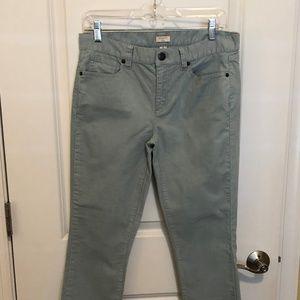 J. Crew Light Blue Corduroy Pants - Size: 28